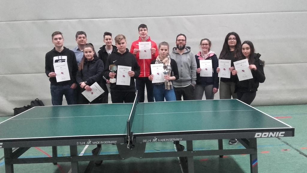 BOS – Schüler nehmen bei den Tischtennis-Schulmeisterschaften der Stefan-Andres Realschule plus Schweich teil