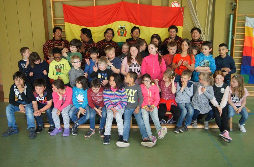 """""""Los Masis"""" zu Gast in unserer Schule und in Schweich"""